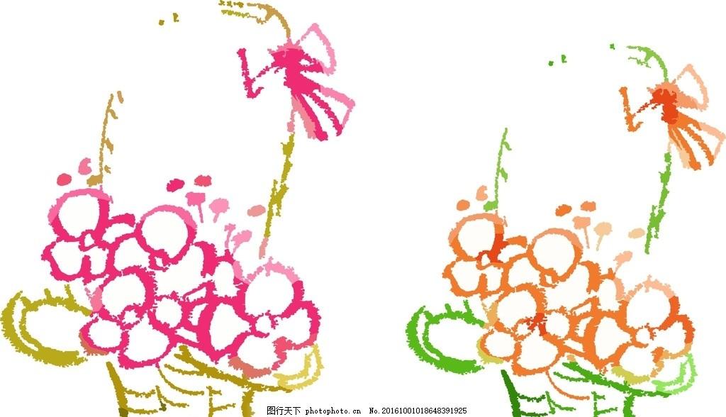 奥比岛灵蝶花篮