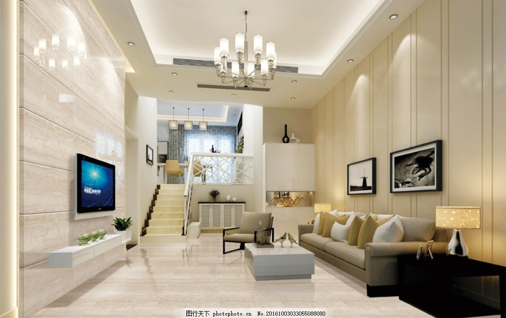背景墙效果图 客厅 瓷砖 瓷砖效果图 地砖 分层素材 陶瓷 电视机背景