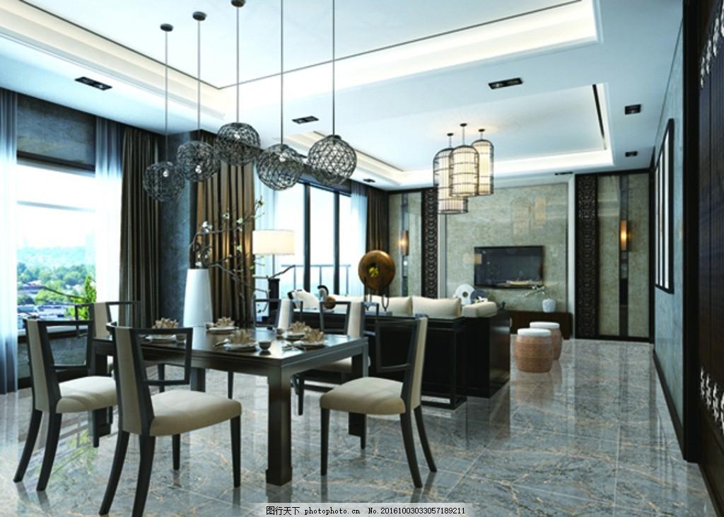 客厅效果图 瓷砖 分层效果图 分层素材 陶瓷
