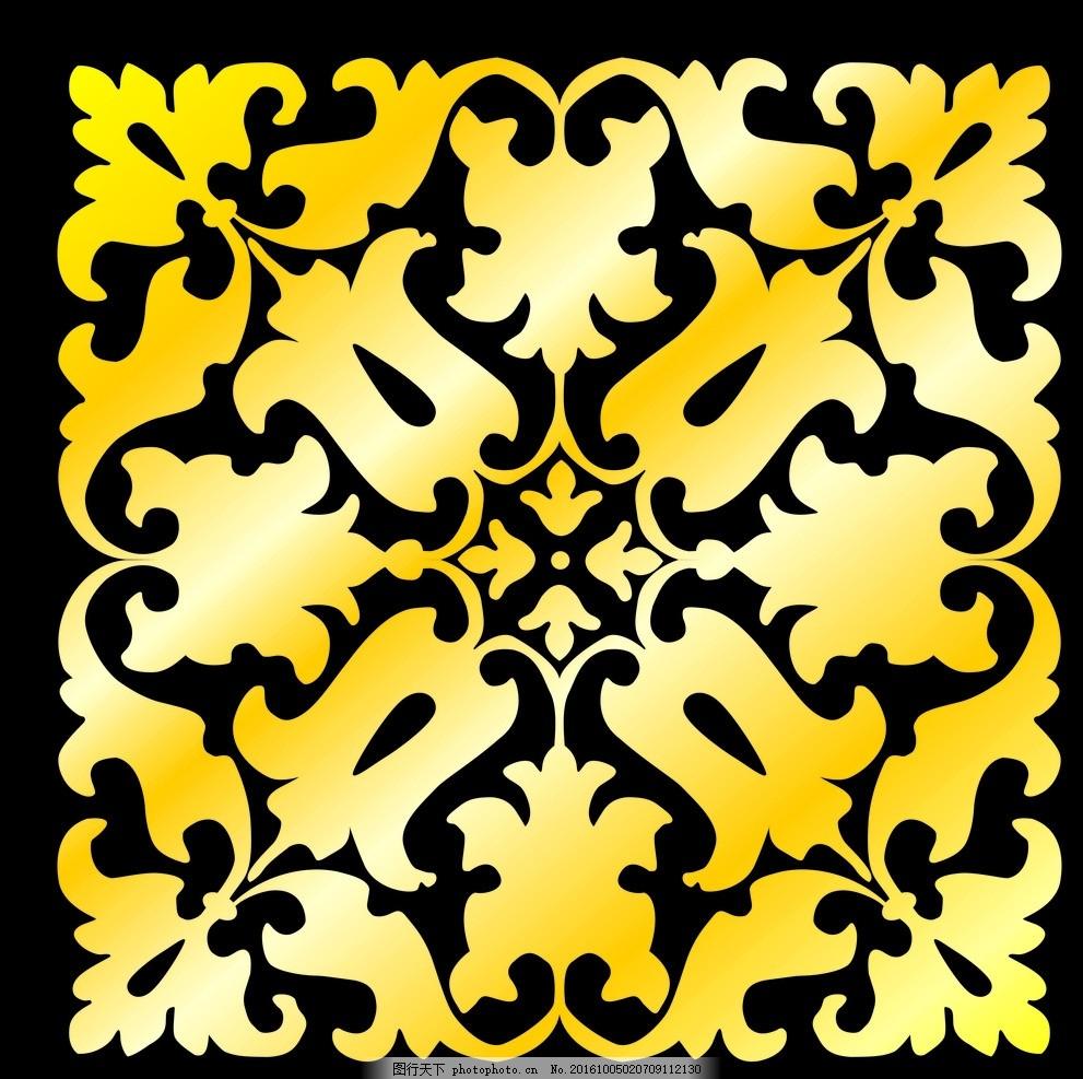 镂空 花雕 底纹 雕刻 花纹 镂雕 设计 花纹 镂雕 设计 底纹边框 移门