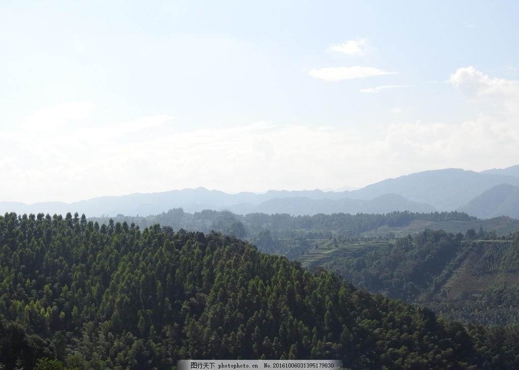 文登峰山风景照片