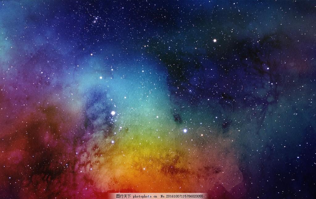 星空背景 唯美 炫酷 星际 星系 星云 宇宙 浪漫星空 梦幻 底纹边框
