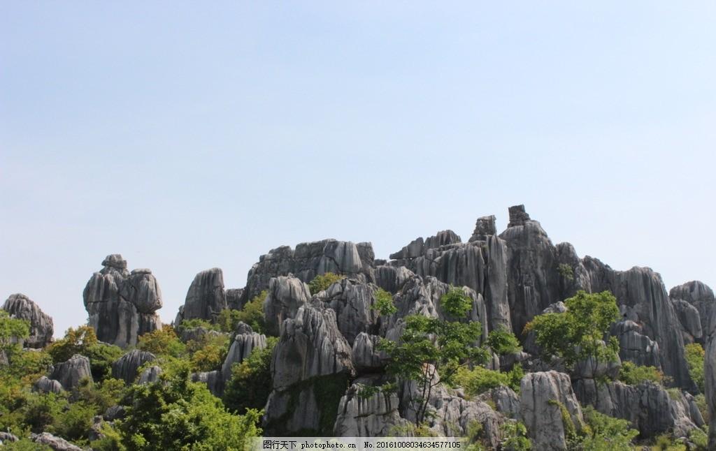 昆明石林风景摄影 自然风景 石林 摄影 石山 公园 摄影 自然景观 风景