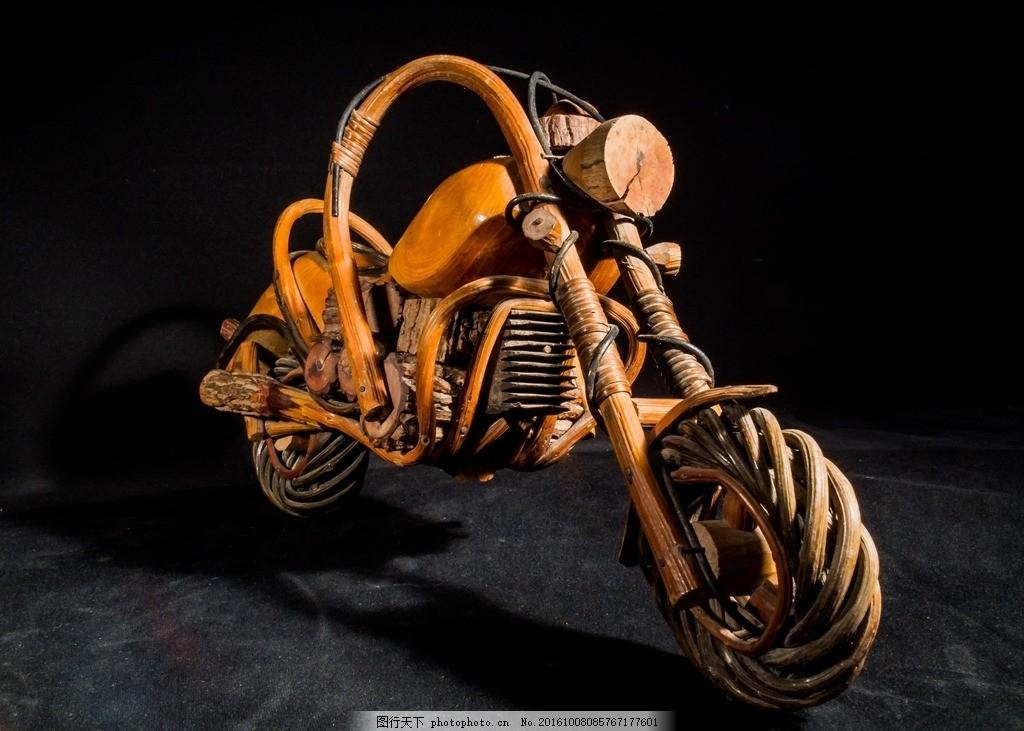 艺术 摩托车 树根 根雕 艺术 交通 素材之家 摄影 文化艺术 体育运动