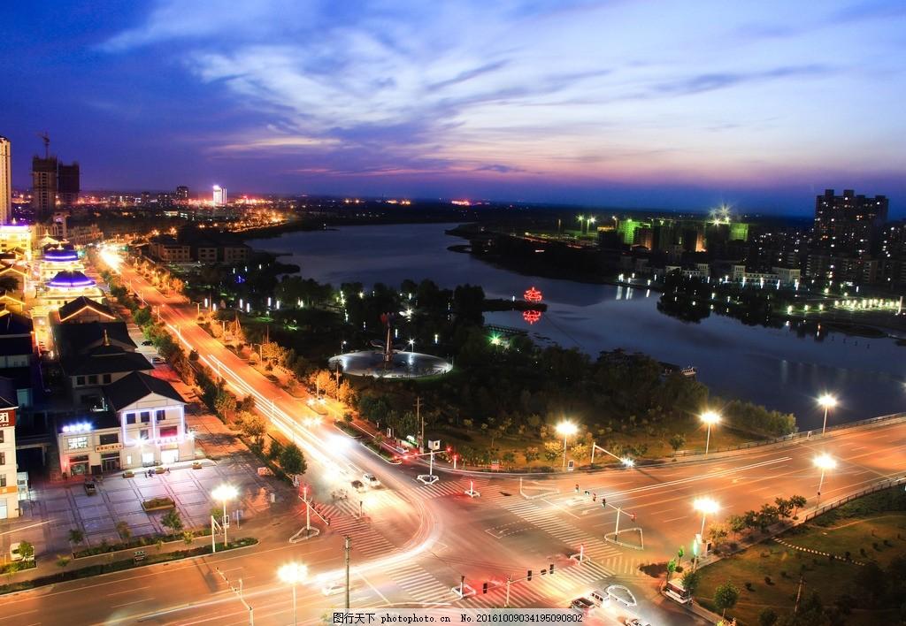 城市 车流 风景 延时摄影 唐山 滦南 北河 摄影 摄影 自然景观 自然风