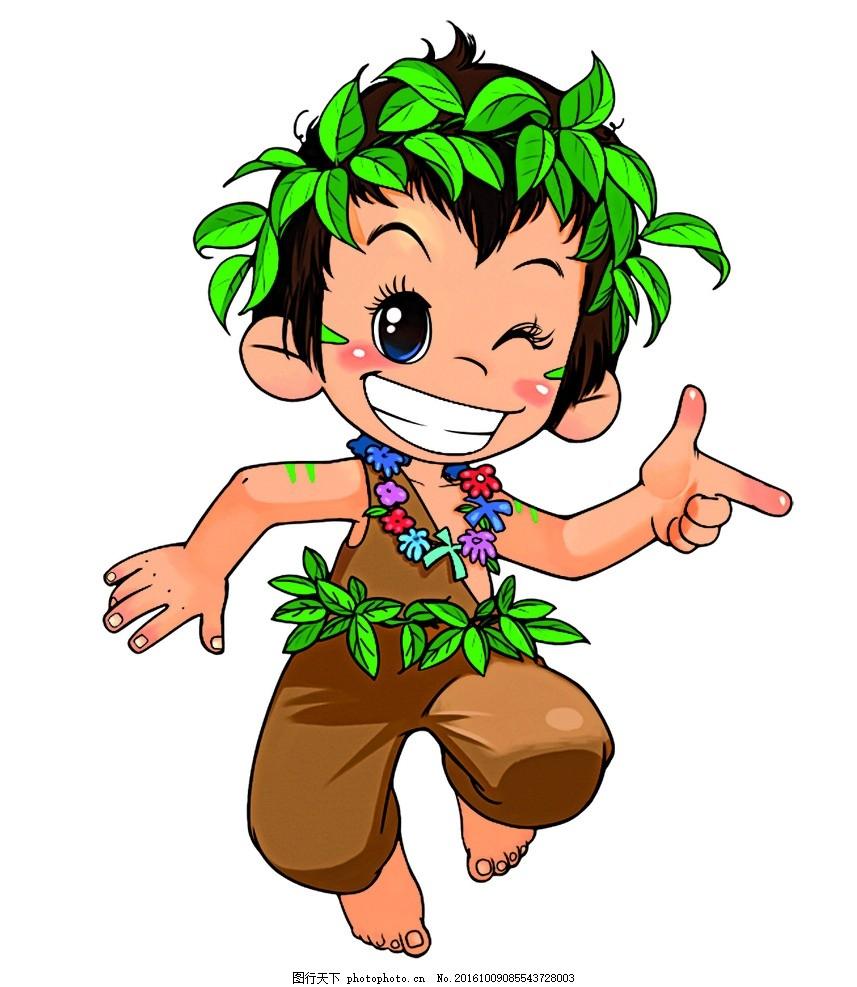 卡通小孩 指示小孩 笑脸 笑脸小人 可爱小人 活泼小人 卡通小孩子