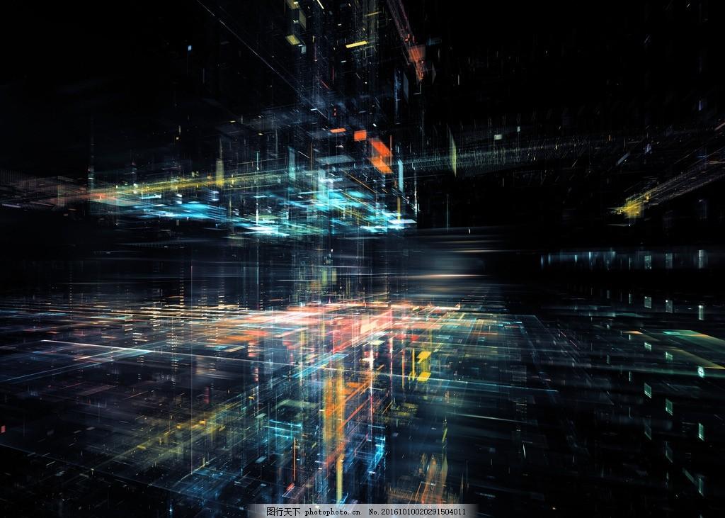 空间立体纹理 多维空间 三维 抽像纹理 科技感 动感背景 立体 设计
