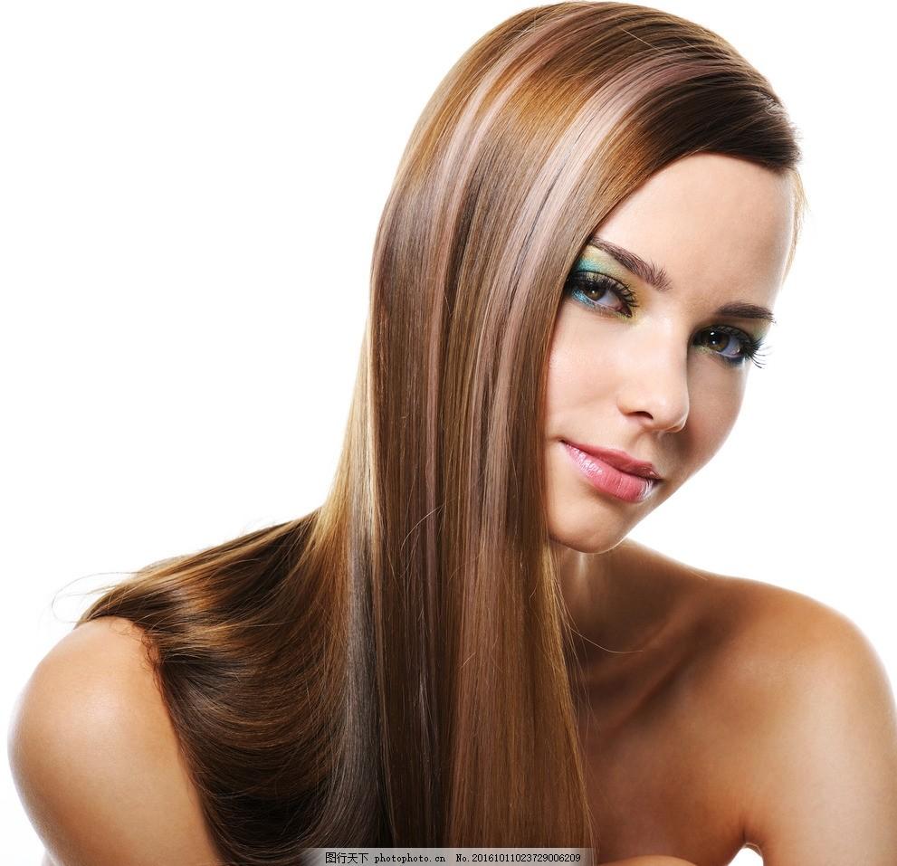 外国模特 美发模特 发型 秀发 头发 女性模特 国外美女 漂亮女人