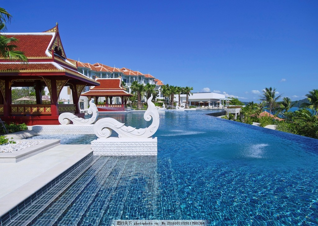 度假氛围 度假 海景别墅 休闲度假 高端度假 度假村 丽晶酒店 普吉岛
