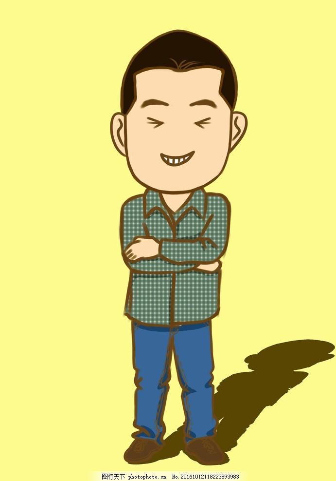q版人物 漫画 造型设计 动漫动画 动漫人物