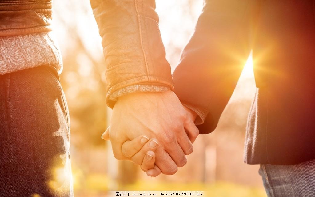 亲密情侣 温馨情侣 甜蜜情侣 牵手情侣 牵手 手拉手 十指紧扣 情侣