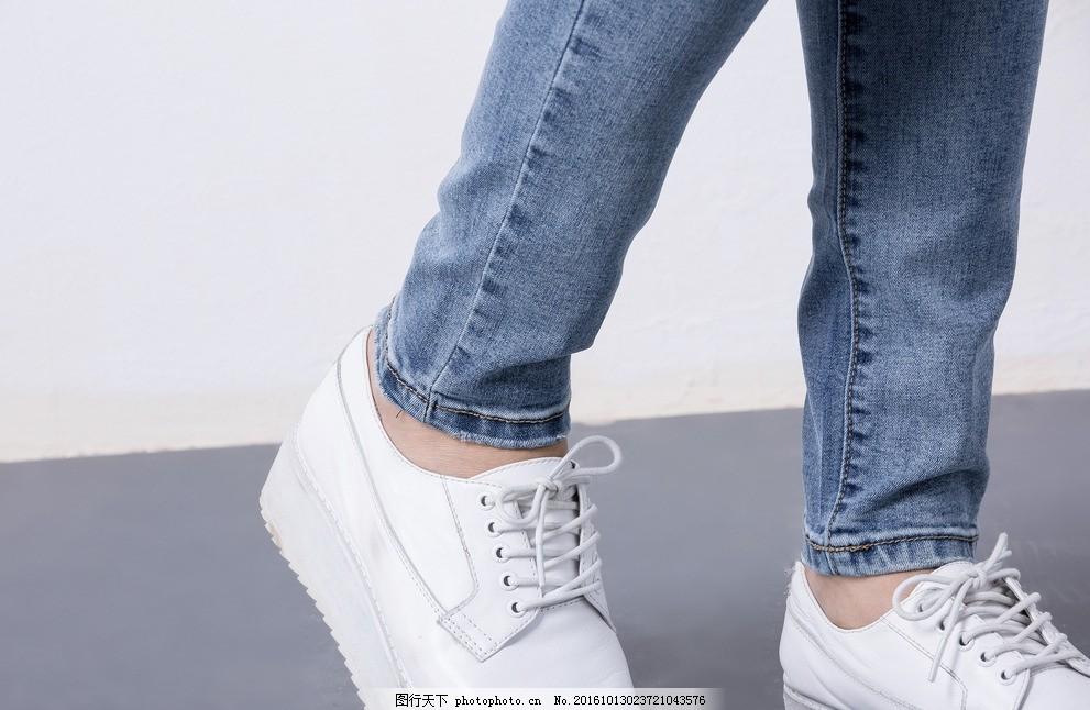 牛仔褲布紋 女裝 時尚 牛仔廣告 美女 牛仔褲廣告 人物風景 女性女人