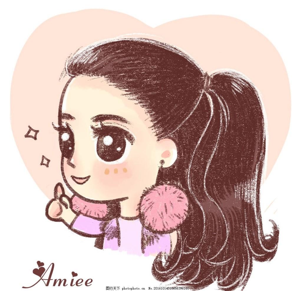 微信 qq      女生 可爱 微信 微博头像 -10 设计 动漫动画 其他 72