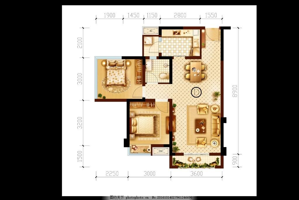 格局 沙发 床 地板                阳台 地产      室内 装修 户型图
