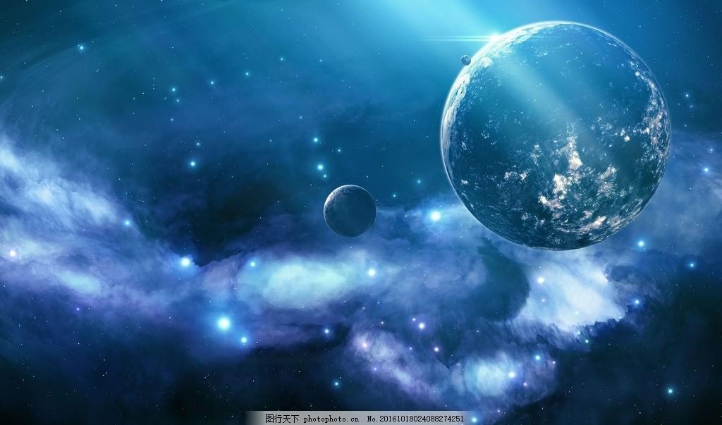 宇宙地球 宇宙 地球 星空 繁星 科幻 设计 自然景观 自然风光 72dpi