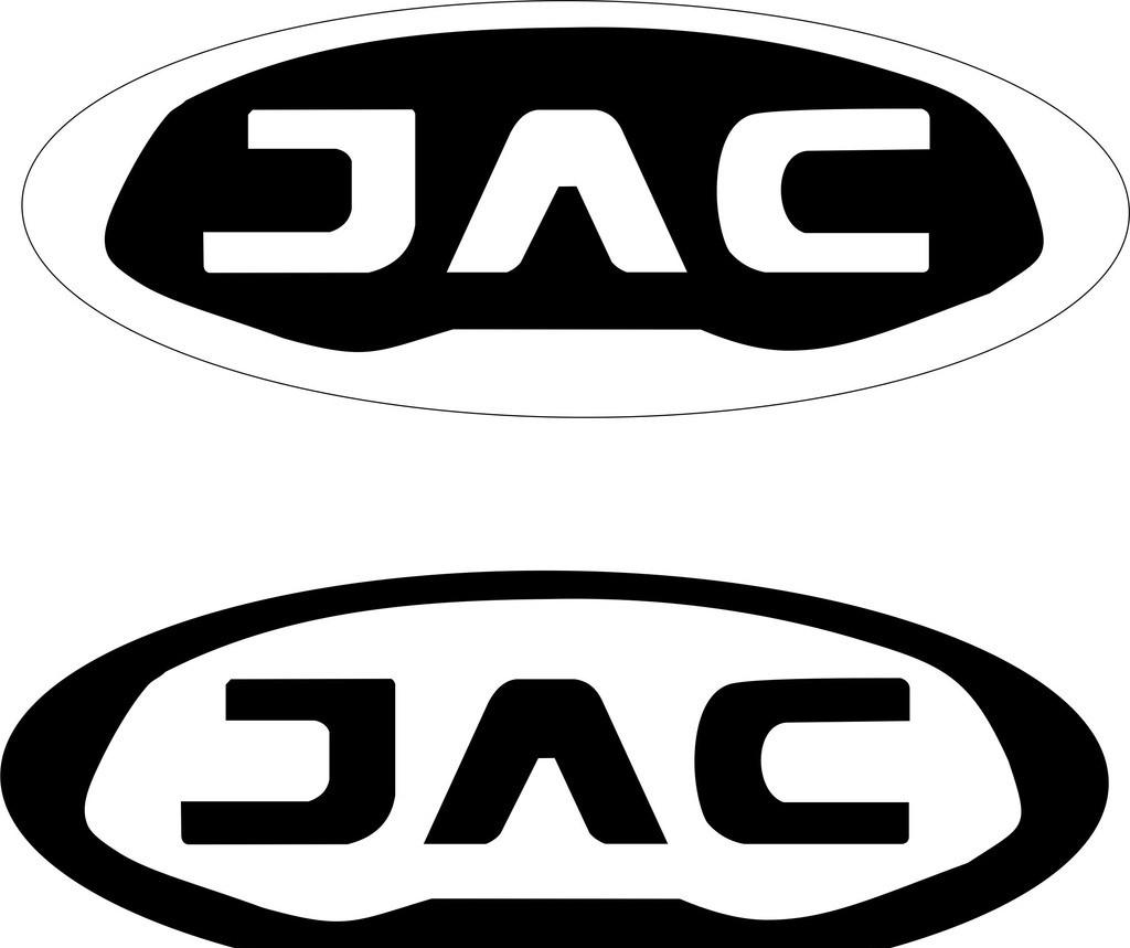 江淮汽车最新车标 江淮 汽车 车标 最新 黑白 设计 标志图标 企业logo