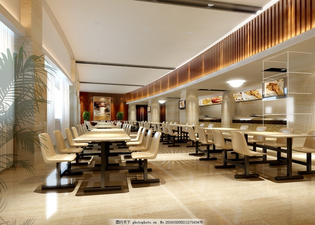 饭店餐厅 餐桌模型 餐饮大厅 宴会厅装修 餐厅装修 宴会厅效果图 工装
