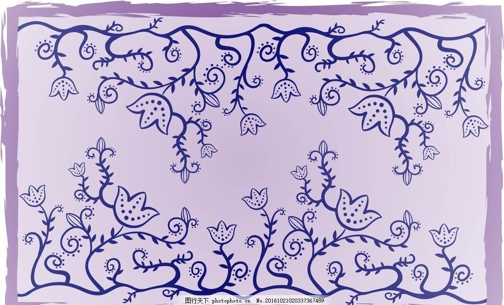手绘线条 手绘 线条 树木 卡通树 矢量树 植物 树 简单 矢量 底纹