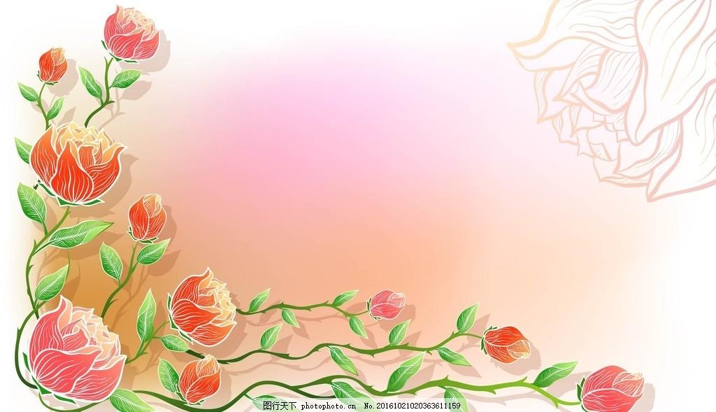 线条 背景 壁纸 星星 蝴蝶 手绘 底纹 边框 设计 底纹边框 花边花纹
