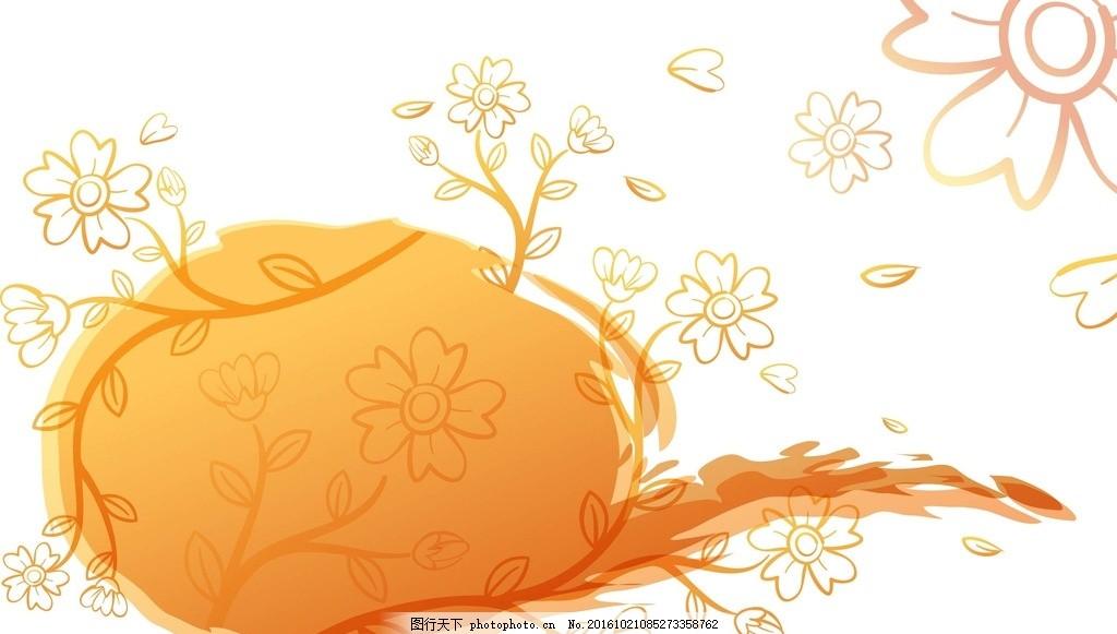 手绘线条 背景 壁纸 星星 蝴蝶 底纹 边框 底纹边框 花边花纹
