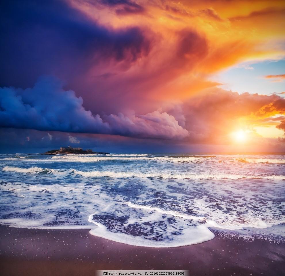 秦皇岛大海 唯美 风景 风光 旅行 自然 海景 夕阳 摄影 国内旅游