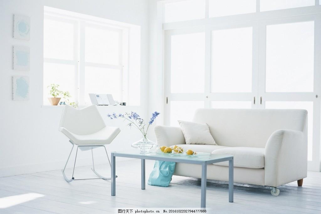 客厅 唯美 家居 家具 简洁 欧式 浪漫 白色系