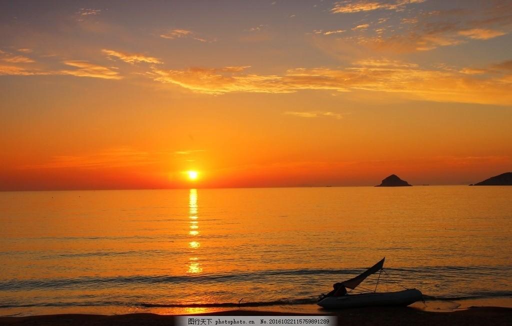 金色海滩 日出 阳光 海上日出 风光专辑 摄影 自然景观 自然风景 72