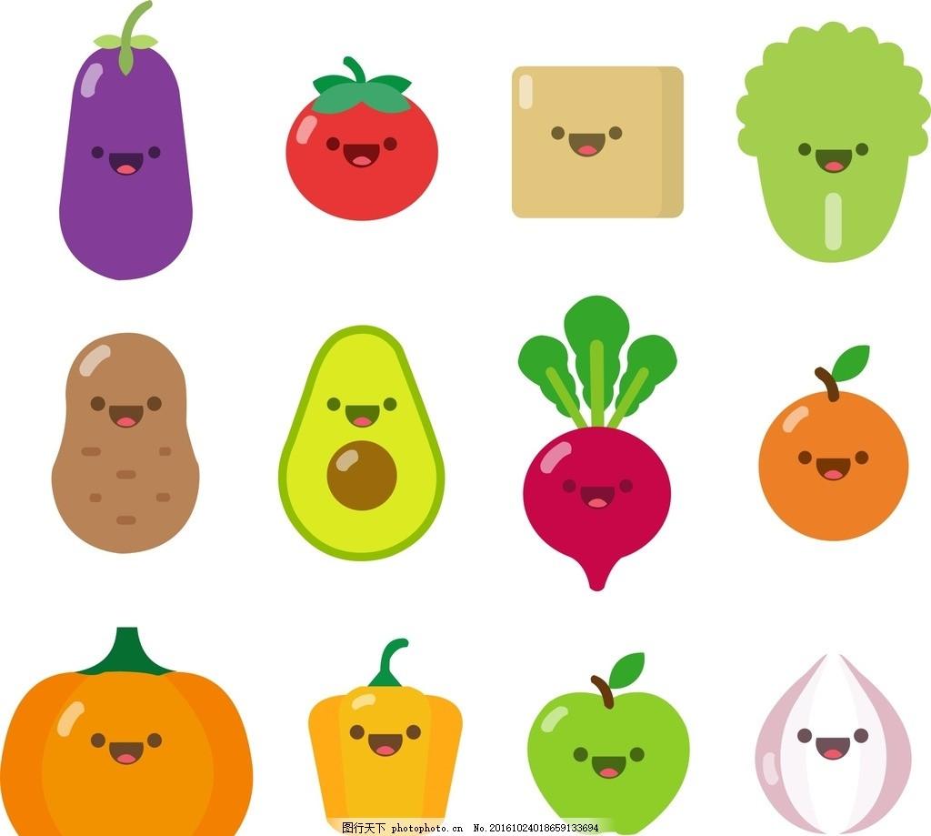 蔬果手工制作小老鼠