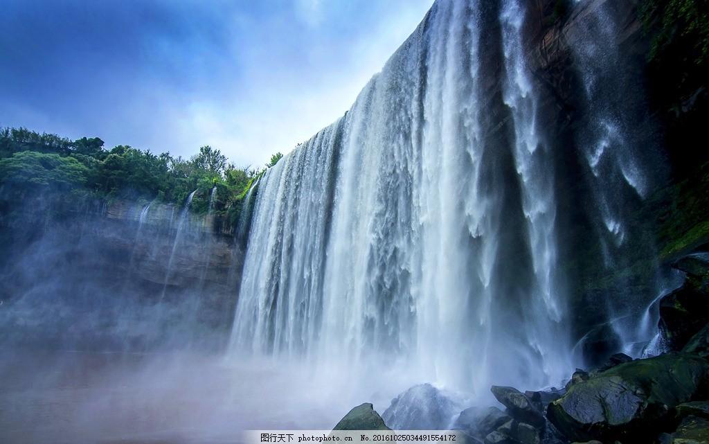 万州大瀑布 摄影 瀑布 万州 高清 rgb 摄影 自然景观 山水风景 240dpi