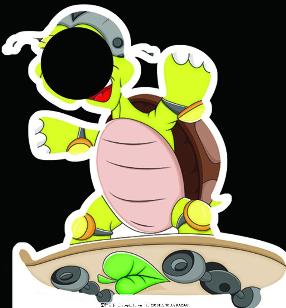 乌龟人形立牌图片