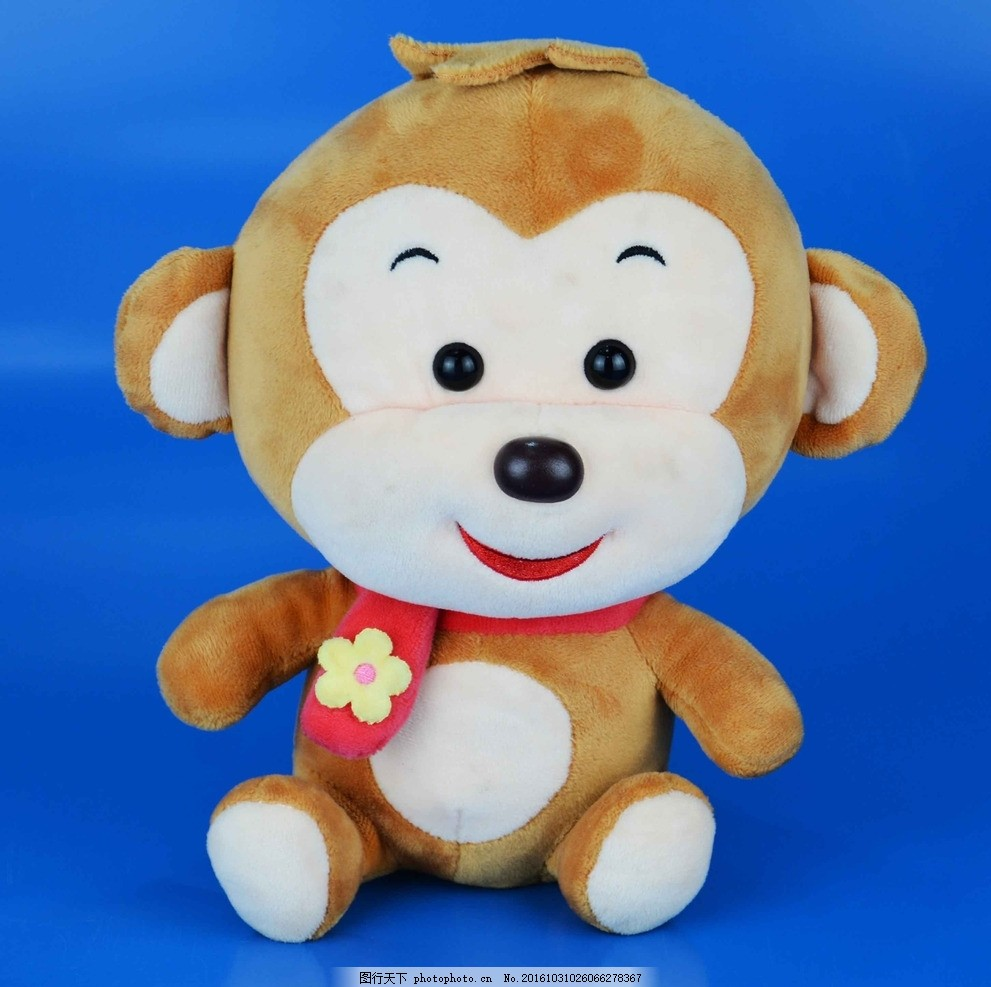 小猴子公仔 猴子 公仔 娃娃 棕色猴子 可爱娃娃 摄影 生活百科 娱乐