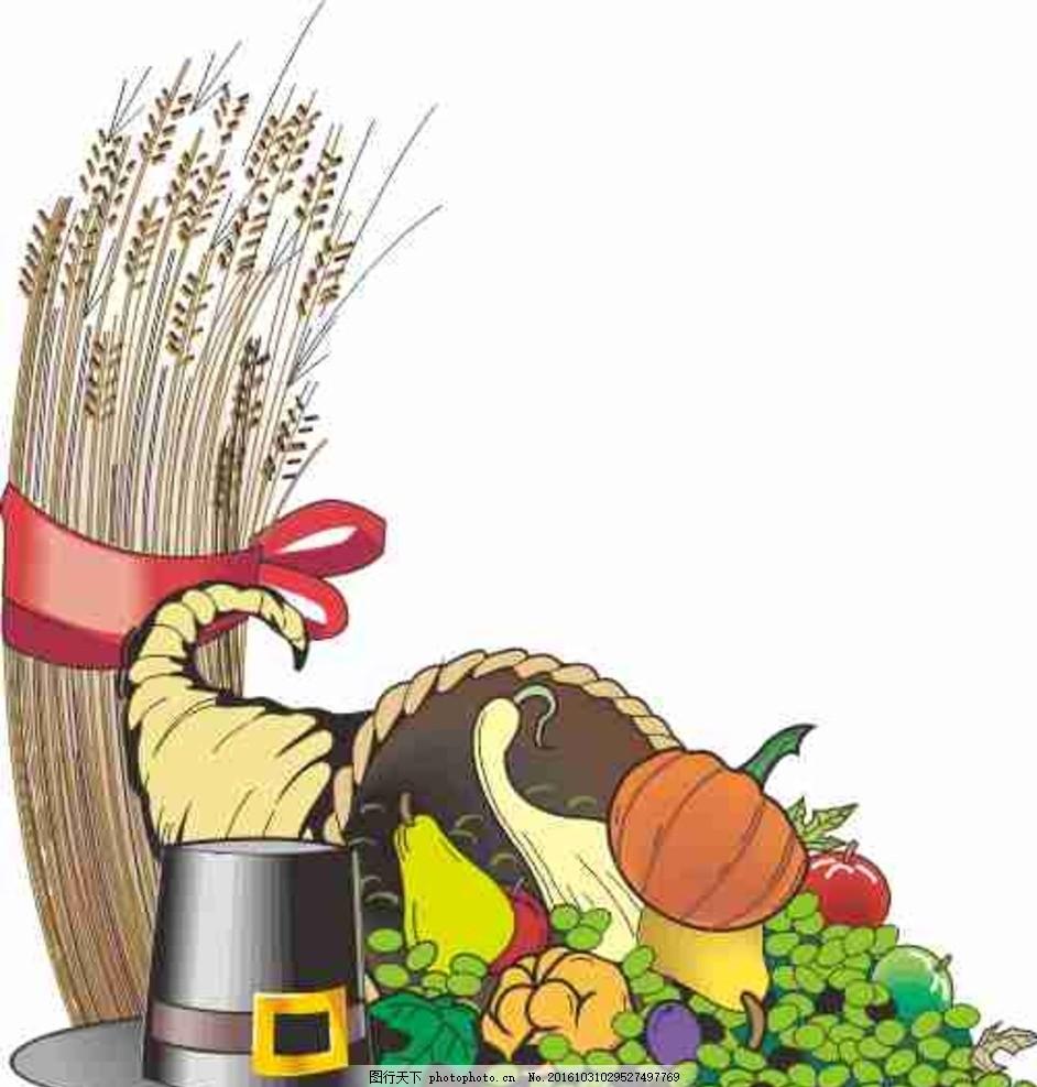 漫画 设计 动漫动画 动漫人物 cdr 线条图 插画 花纹 花边 水果 蔬菜