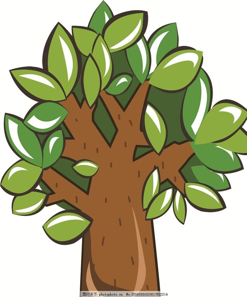 卡通樹 大樹 幼兒園形象墻 大樹墻