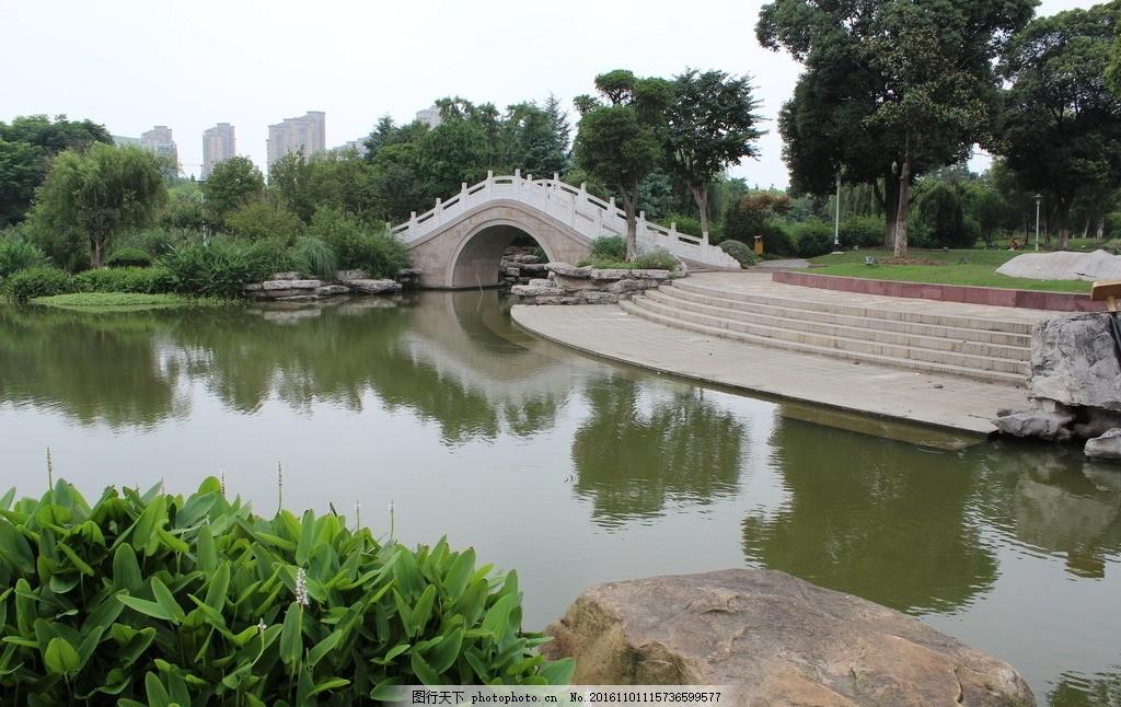 公园 平静 湖面 湖水 昆山 花桥 摄影 自然景观 自然风景 72dpi jpg