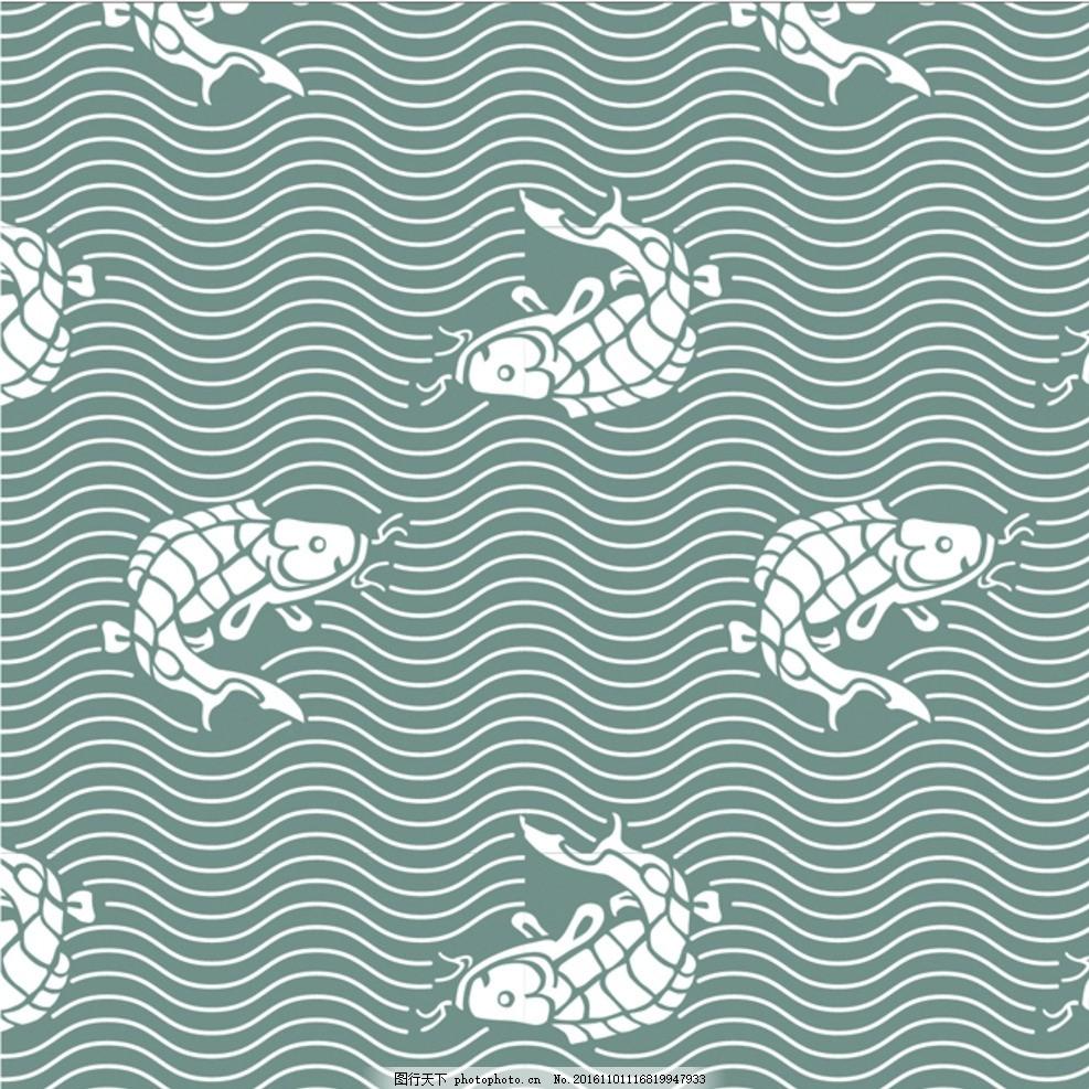 日本风格鲤鱼