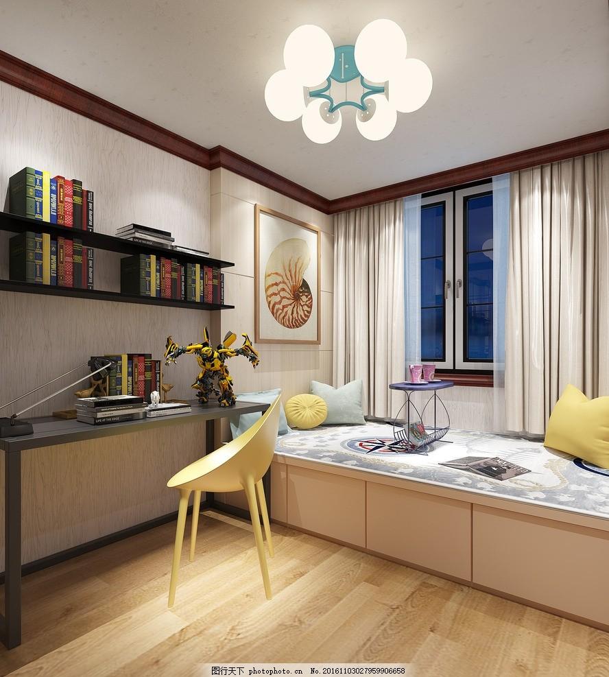 榻榻米卧室 卧室效果图 设计 环境设计 室内设计 家装 设计 环境设计