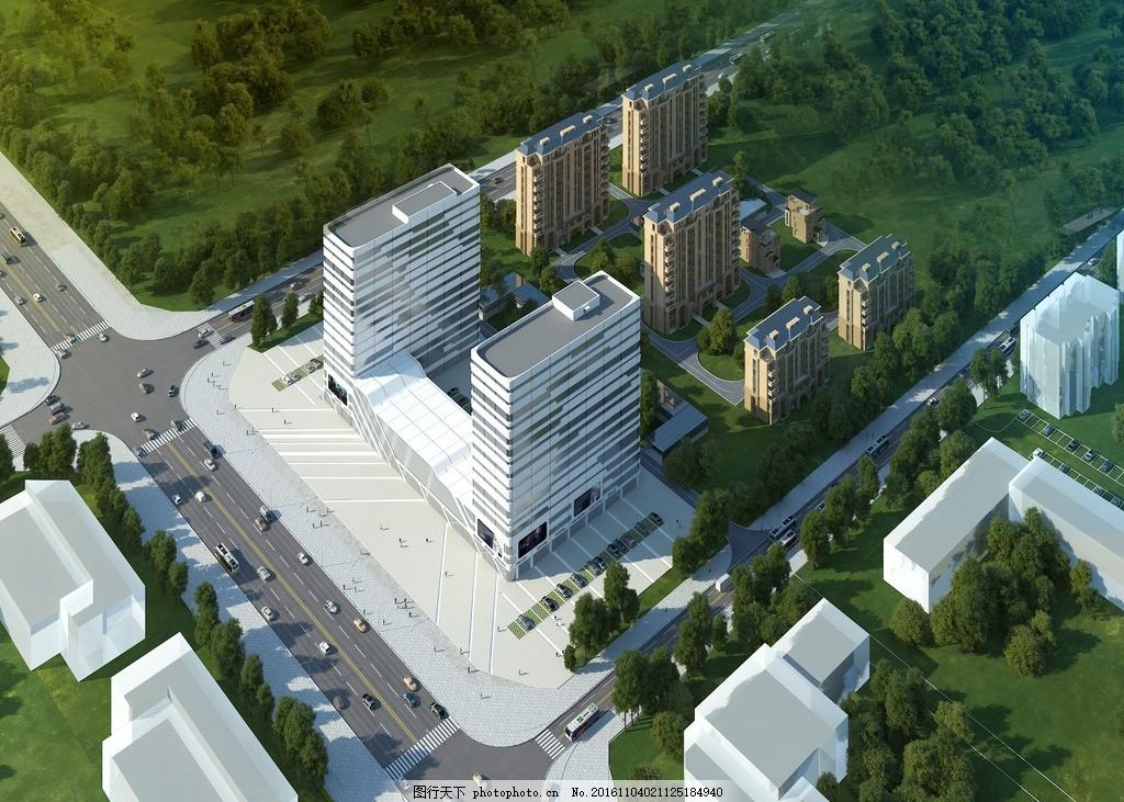 鸟瞰图 建筑 建筑鸟瞰 建筑设计 景观设计