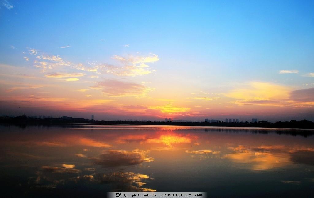 汤逊湖 湖北汤逊湖 武汉 夕阳 日落 柳树 风景 洪山区 摄影 摄影 旅游