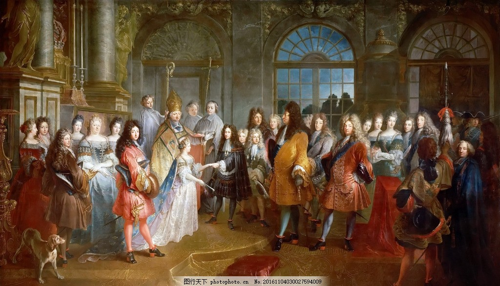 欧美油画 海外绘画 欧洲油画 电视沙发背景 电视背景墙 巨幅 欧式古典