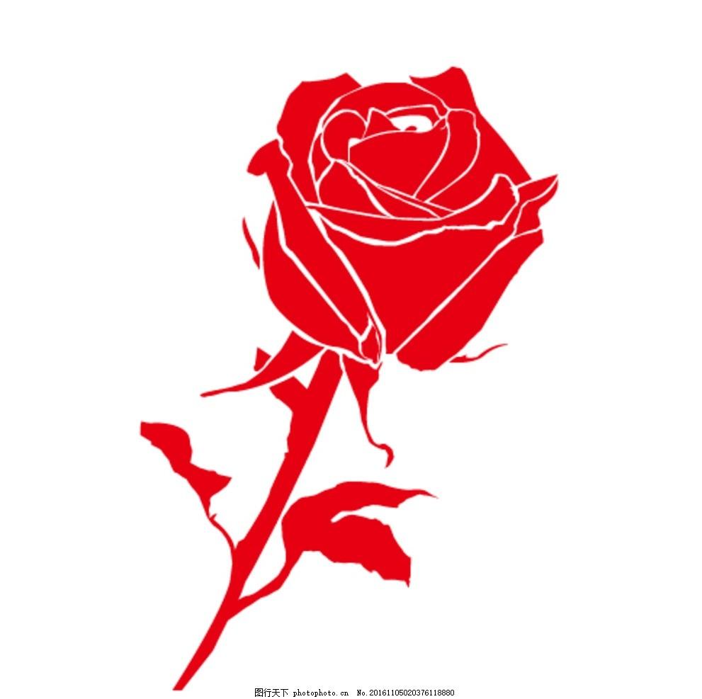 矢量玫瑰花 花朵底纹 花朵