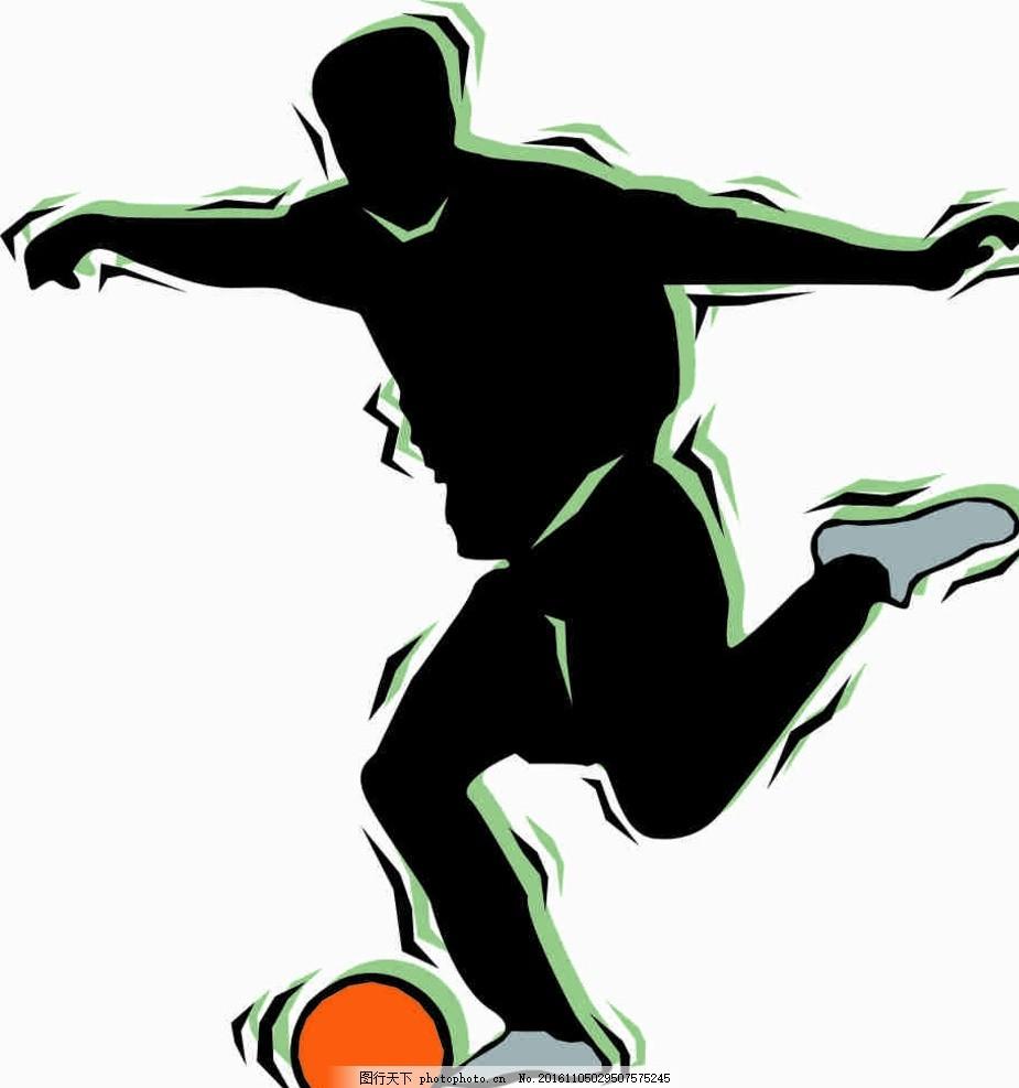 设计 动漫动画 动漫人物 cdr 线条图 插画 素描 雕刻 水彩画 踢足球的