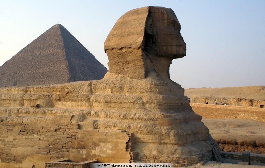 金字塔 埃及 埃及金字塔 古建筑 沙漠 黄土 特色建筑 古文明 建筑