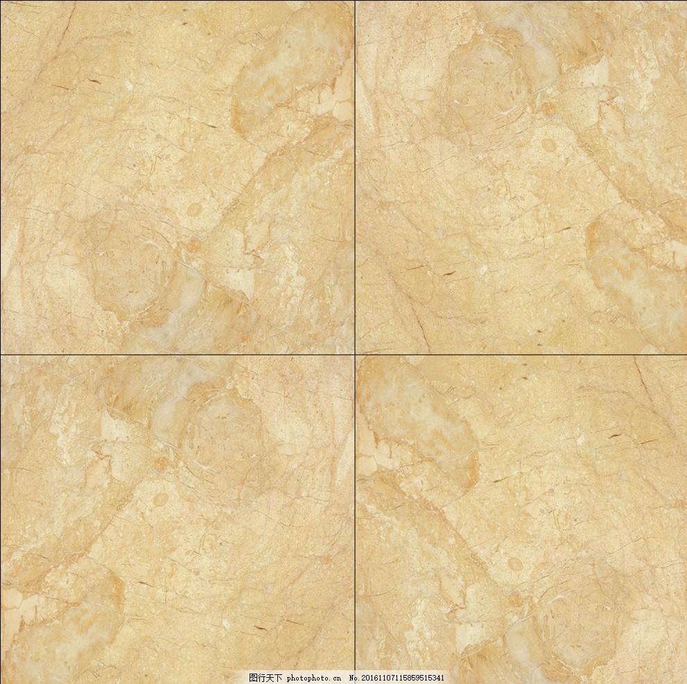 大理石地面 黄色 地砖 四块 缝隙 底纹边框 背景底纹
