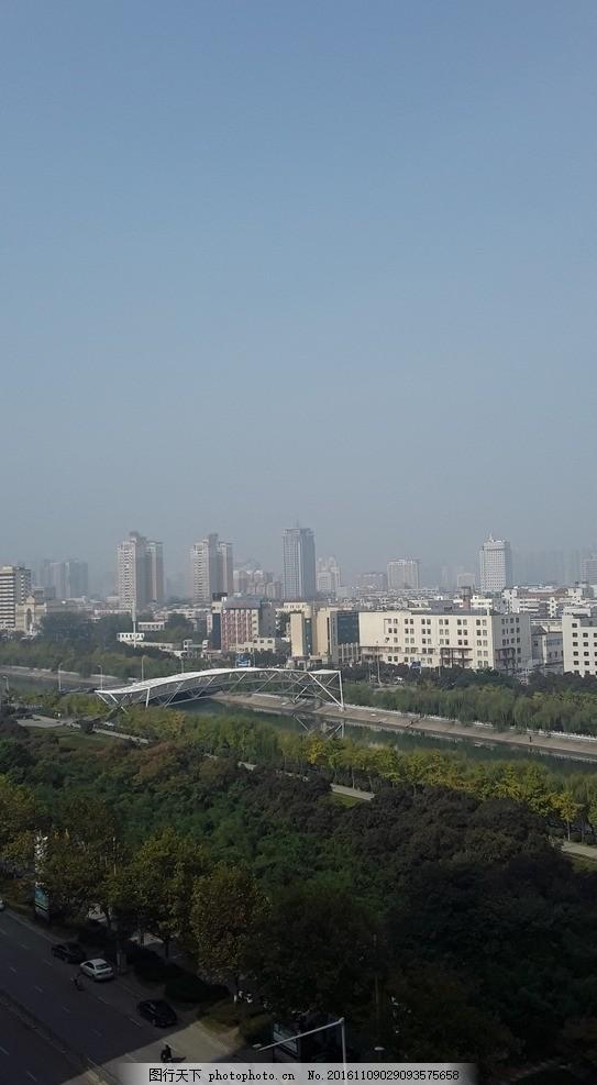 窗外 郑州 东风渠 滨河公园 晴天 俯瞰 摄影 建筑园林 其他 72dpi jpg
