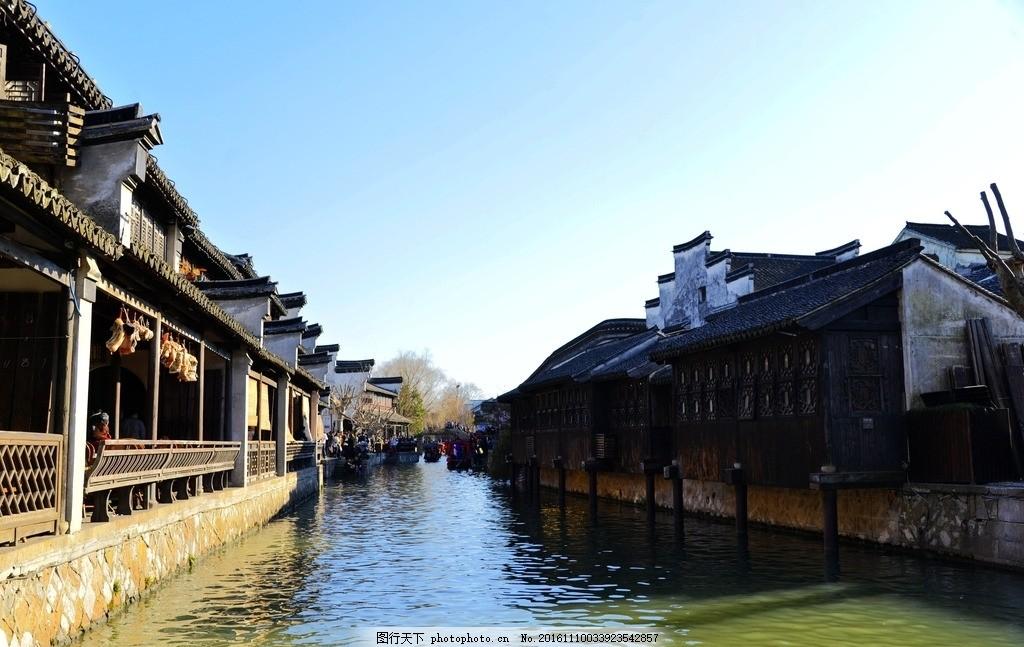 南浔古镇 唯美风景 风光 旅行 自然 江南 水乡 浙江 杭州 摄影