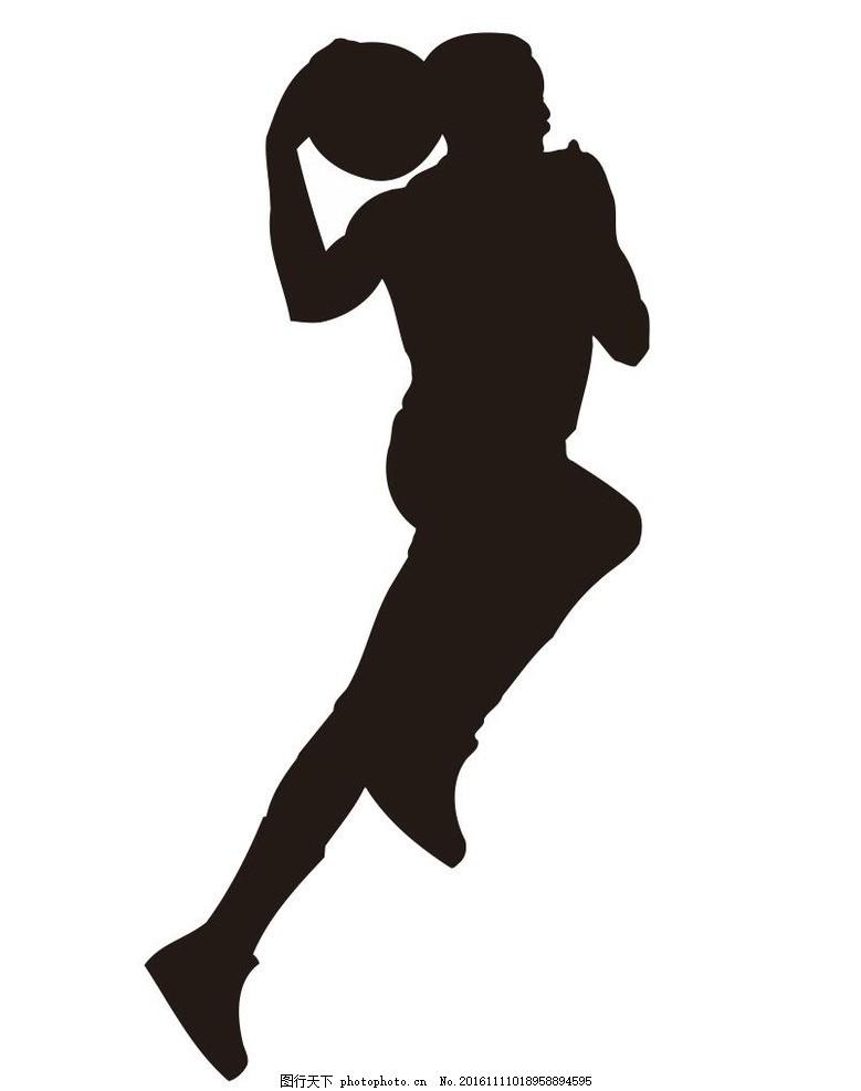 体育运动 球赛 篮球比赛 运动员 简笔画 线条 线描 简画 黑白画 卡通