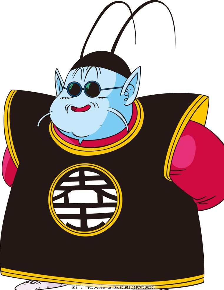 界王 龙珠 孙悟空 动漫 卡通 可爱 七龙珠 动漫动画 动漫人物