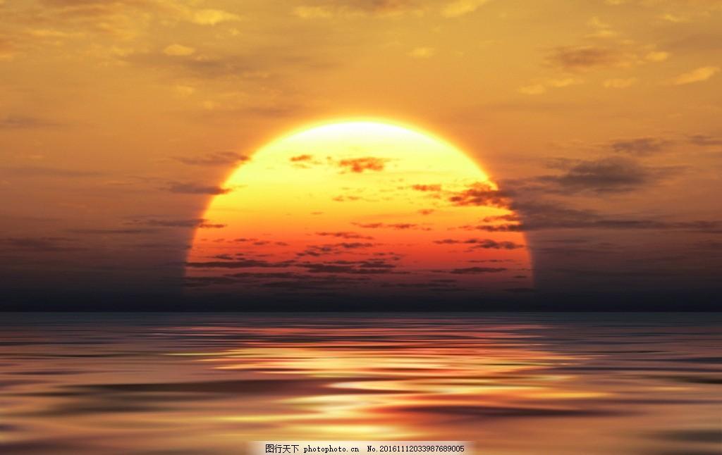 秦皇岛日出 唯美 风景 风光 旅行 自然 大海 摄影 国内旅游