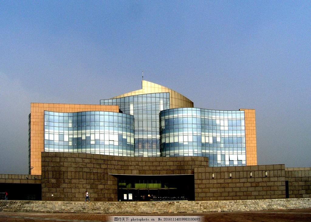 四川大学图书馆 新校区 江安校区 摄影 建筑园林 建筑摄影