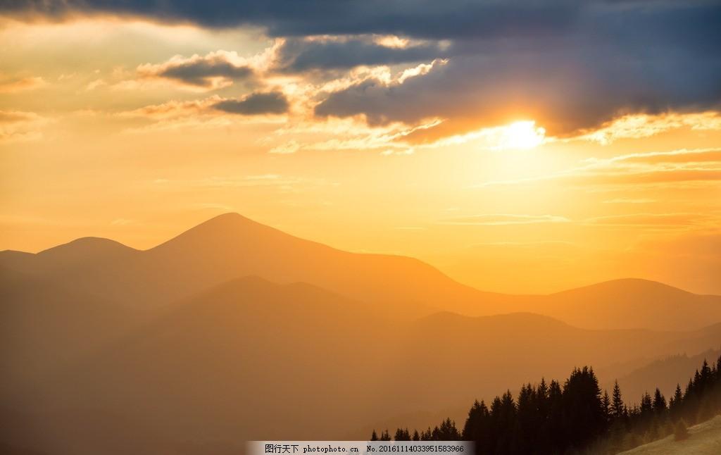 唯美 风景 风光 旅行 自然 秦皇岛 祖山 夕阳 落日 日落 黄昏 傍晚